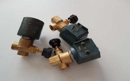 Electroválvulas para caldeiras